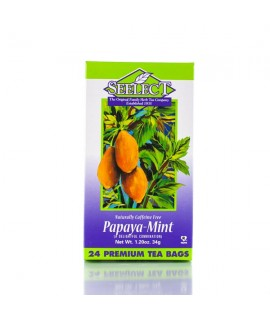 Papaya-Mint Tea 24 Premium Tea Bags