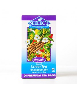 Organic Green Tea - Cinnamon Spice (24 Tea Bags)
