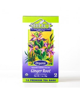 Organic Ginger Root Tea (16 Tea Bags)