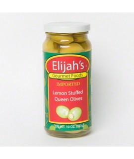 Lemon Peel Stuffed Olives