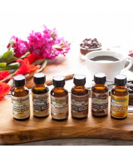 Natures Flavurs Sample Pack of Organic Coffee and Tea Flavoring