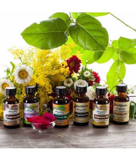 Newport Flavors Sample Pack of Organic Fragrance Oils (Alcohol Soluble)