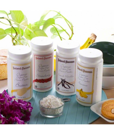 Newport Flavors Sample Pack of Organic Flavor Powders (Sugar Free and Calorie Free)