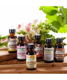 Newport Flavors Sample Pack of Organic Fragrance Oils (Oil Soluble)