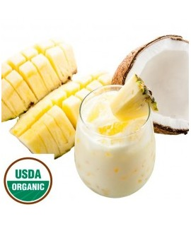 Organic Pina Colada Flavor Powder (Sugar Free, Calorie Free)