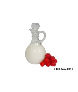 Organic Raspberry Cream Flavor Powder (Sugar Free, Calorie Free)