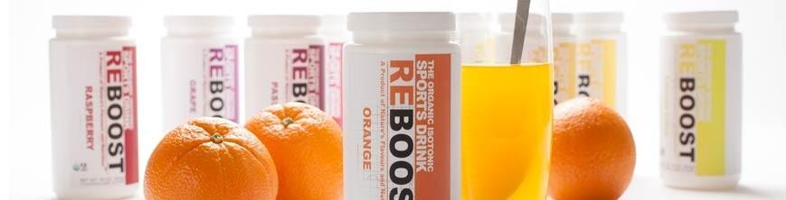 Reboost Organic Sports Drink Powder